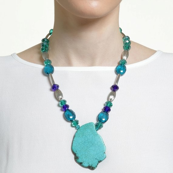 Marmaris Azure Turquoise Necklace