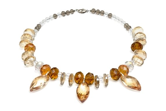 Signature Honey Crystal Necklace